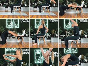 UPPER BODY STRETCHES TO DO AT YOUR DESK