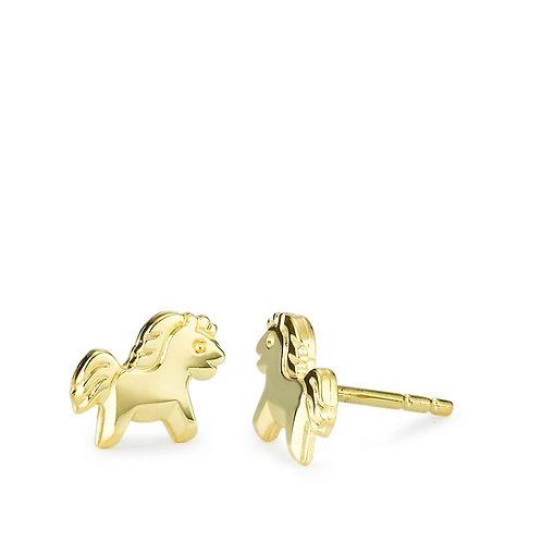 OHRSTECKER PFERD GOLD 375