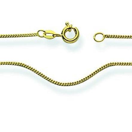 Halskette 375/9 K Gelbgold 36 cm