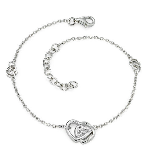 Armband Silber 925 Diamante