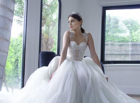 GALIA LAHAV: THE DISNEY PRINCESS BRIDE