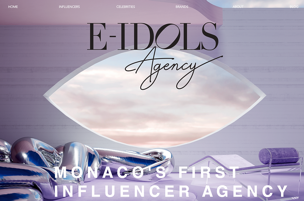 e-idols monaco's first influencer agency
