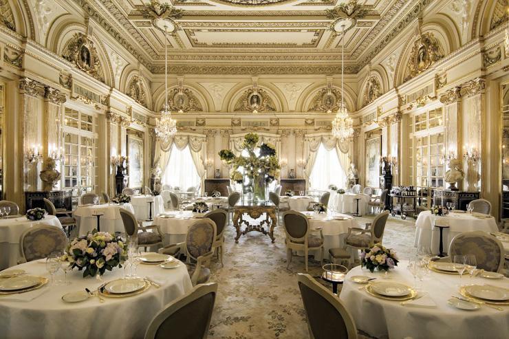 Louis VX restaurant Monaco