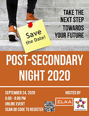 Post-Sec Night 2020 Poster - Untitled Pa
