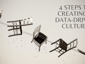4 Steps to creating a Data-Driven Culture