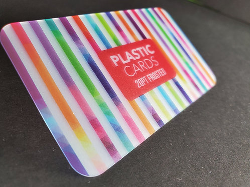 Tarjetas de Plastico