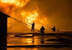 Firemen at work on fire.jpg