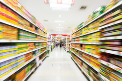Empty supermarket aisle,motion blur.jpg