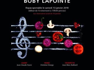 Reprise Boby Lapointe au Grand Hôtel des Rasses