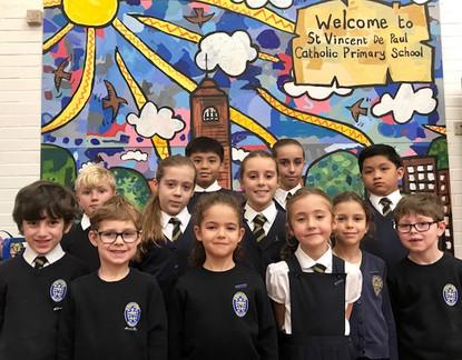 St Vincent de Paul School Council 2017-18