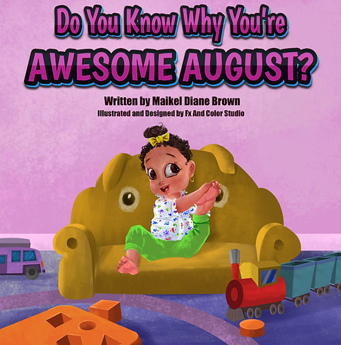 """Do You Know Why You're Awesome August?"" Digital Download"