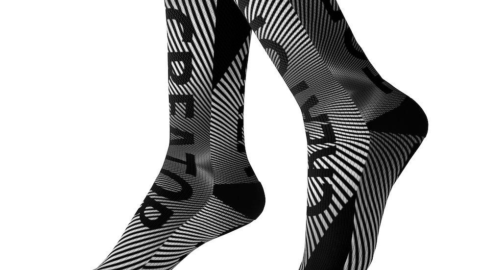 Y Arts Black Accent Creator  Socks