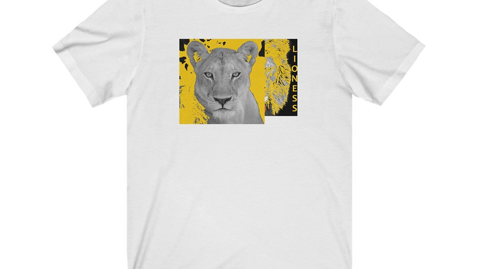 Yellow Lioness Short Sleeve Tee