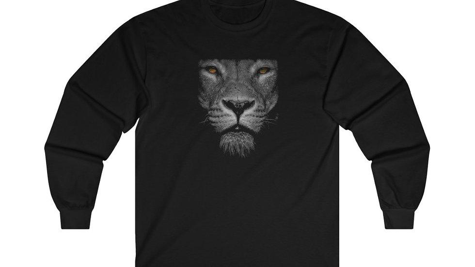 lion Face #2 Ultra Cotton Long Sleeve Tee