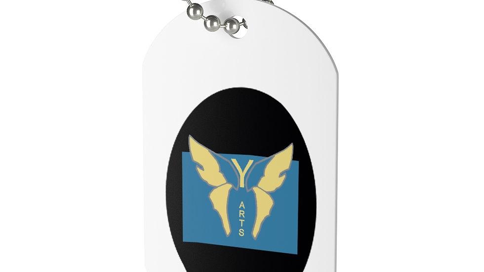 Y Arts Official Logo Dog Tag