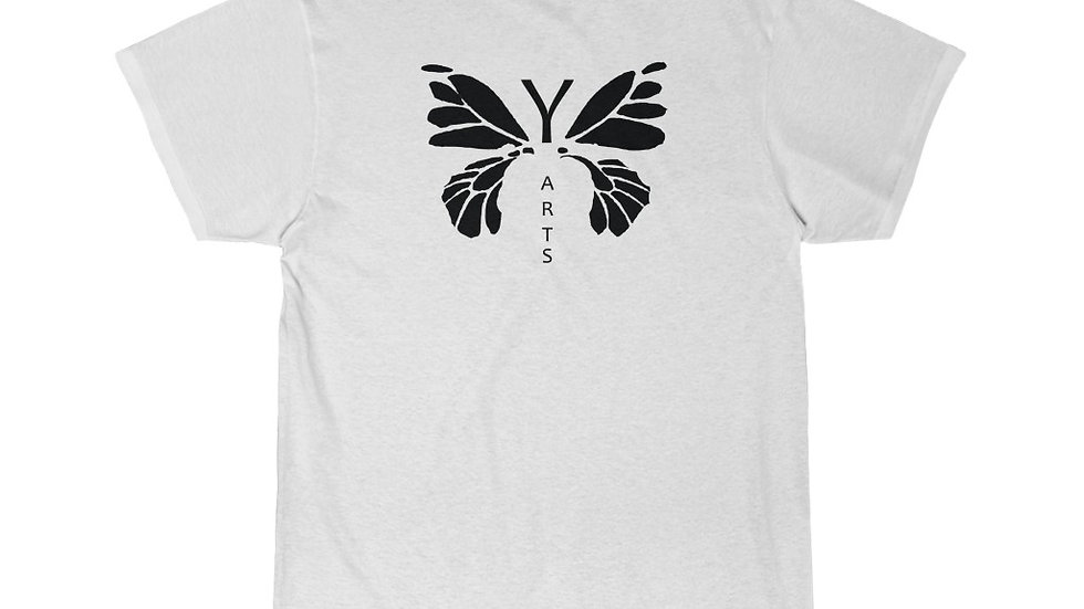Black Y Arts Butterfly Men's Short Sleeve Tee