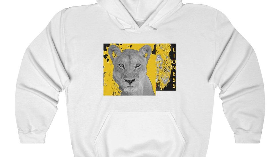 Yellow Lioness Heavy Blend™ Hooded Sweatshirt