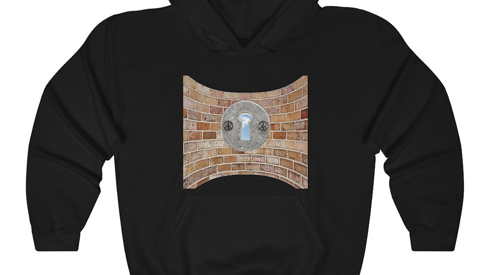 On The Other Side Of Wall Heavy Blend™ Hooded Sweatshirt