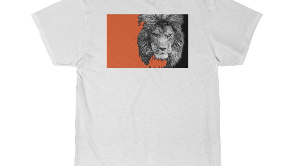 Orange Lion Short Sleeve Tee