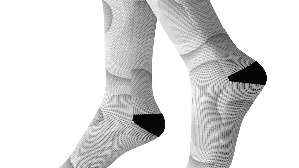 3D Graphic Design Socks
