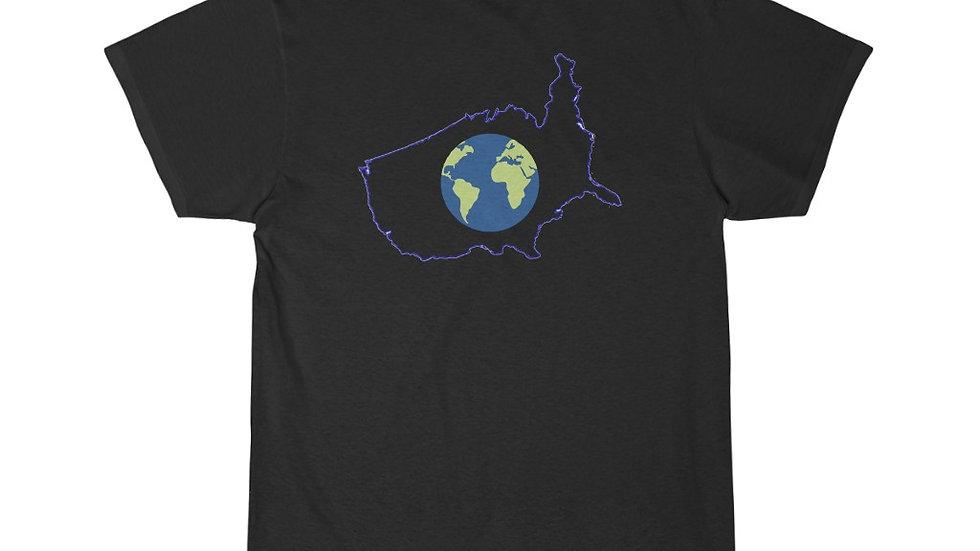 Earth In U.S. Melting Pot...... Short Sleeve Tee