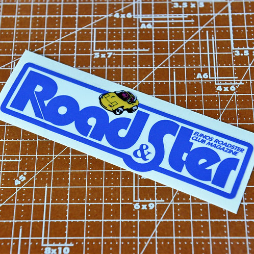 Road&Ster Magazine Sticker