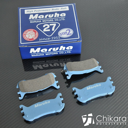 Maruha CC-27 Step 2 Carbon Rear Pads for 1990-2005 NA/NB Miata