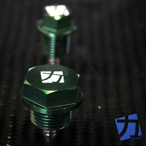 Chikara Motorsports Aluminum Magnetic Differential Drain Plug