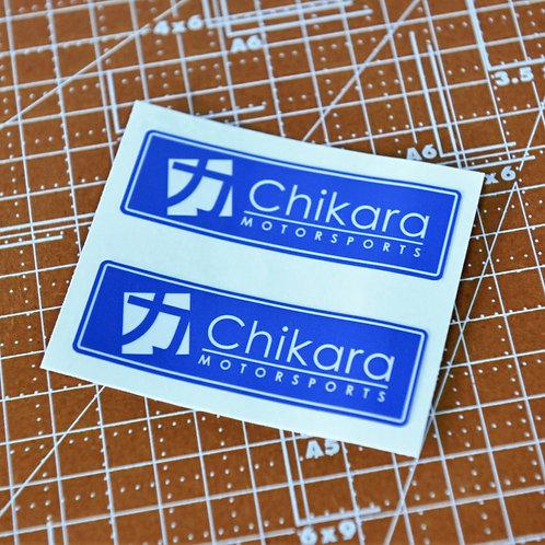 Chikara Classic Sticker set