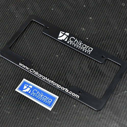 Chikara License Plate Frames (USA/Canada)