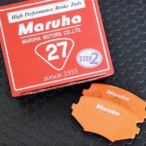 Maruha SS-27 Step 2 Front Brake Pads 1990-1993 NA6 1.6 Miata
