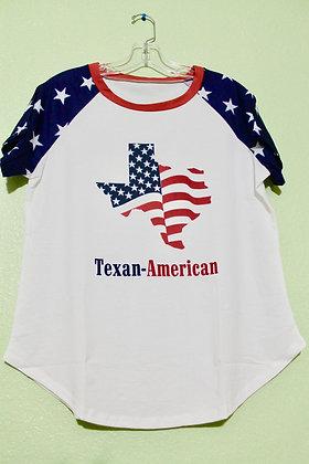 Texan-American tshirt