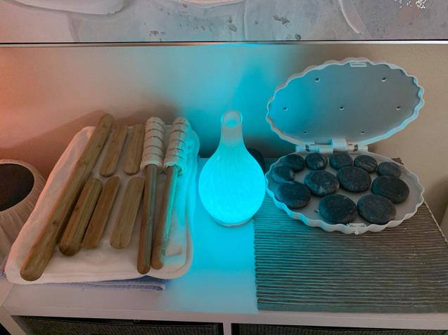 Bamboo Fusion Sticks & Hot Stones