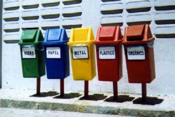 Equipamento para coleta seletiva e gestão de resíduos