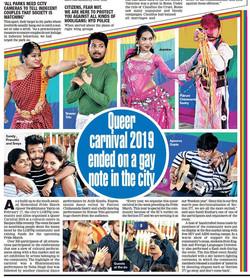 Hyderabad Queer Swabhimana Yatra organiz