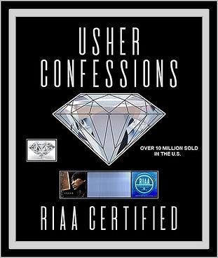 Usher Confessions Diamond Mock-Up 20x24A