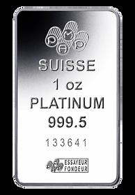 1oz Platinum Bar HD PNG..png
