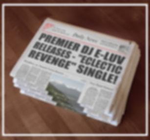 Premier DJ E-Luv - ECLECTIC REVENGE News