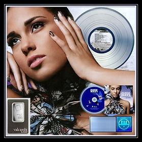 Alicia Keys NEW Elements  24 x 24 Platin
