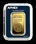 1 oz Gold Bar - APMEX Corners Edit www.p