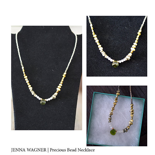 Precious Bead Necklace by Jenna Wagner
