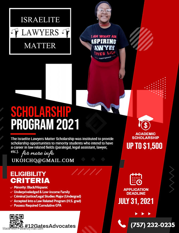 Copy of Scholarship Program Flyer Templa