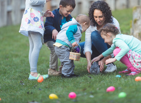 Clues for the Ultimate Stuck-at-home Easter Egg Hunt