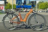 HTech Bikes Custom wood bike