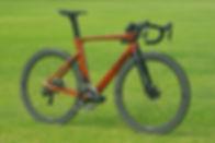 HTech Svelter fully intergrated aero bike