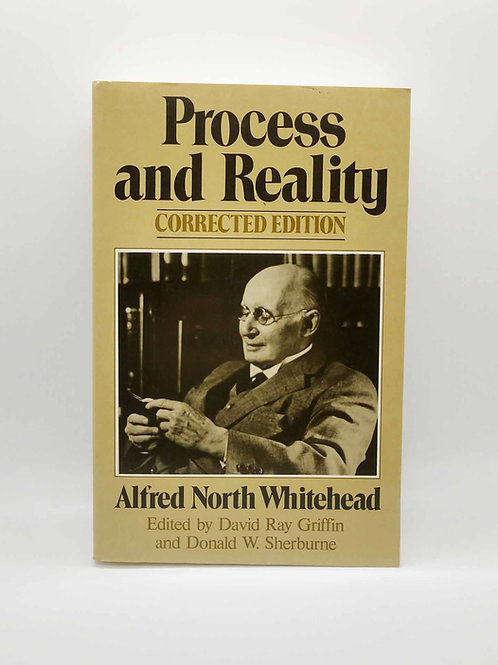 Process and Reality (Gifford Lectures) by Alfred North Whitehead