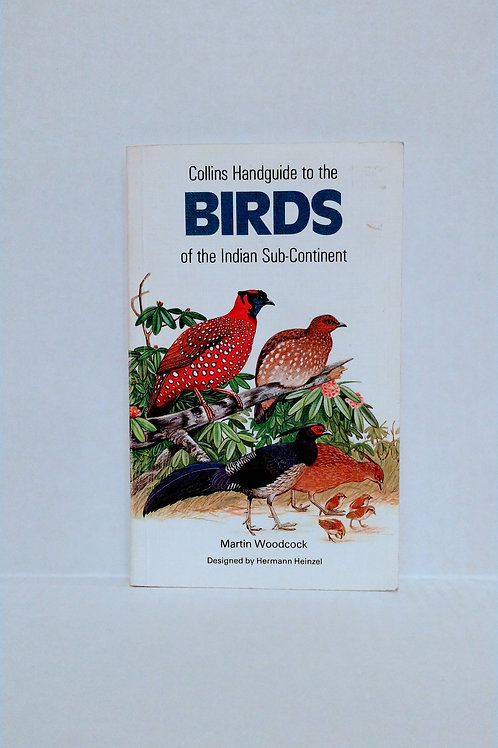 Birds of India, Collins Handguide to the Birds of the Indian Sub-Continent
