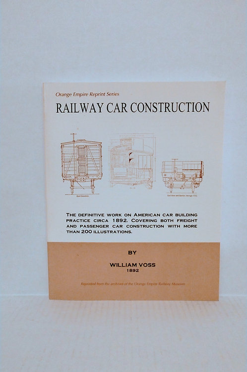 Railway Car Construction by William Voss