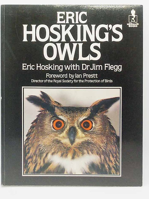 Eric Hosking's Owls (Mermaid Books) by Eric Hosking, Jim Flegg