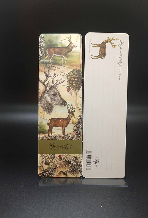 Bookmarks - Bomo Art Deer In The Forest